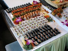 Lessing-Flynn organized an event to promote area restaurants that serve sushi. Photo submitted