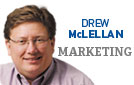 "• Top Dog at McLellan Marketing Group<br />• Blog: <a href=""http://www.drewsmarketingminute.com"">www.drewsmarketingminute.com</a><br />• Email: <a href=""mailto:Drew@MclellanMarketing.com"">Drew@MclellanMarketing.com</a><br />© 2012 Drew McLellan"