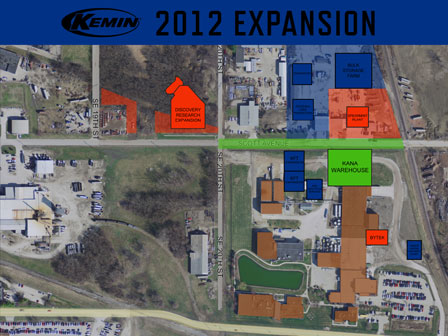 Kemin announces 5-year expansion project