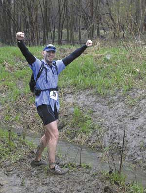 Steve Cannon is blazing a runner's trail to fight cancer. Photo submitted.