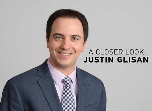 A Closer Look: Justin Glisan