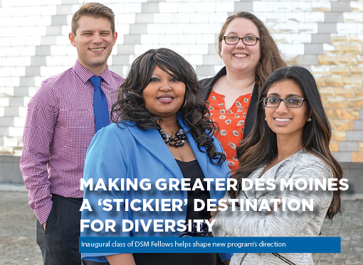 Making Greater Des Moines a 'stickier' destination for diversity